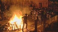 Riots in Dunedin