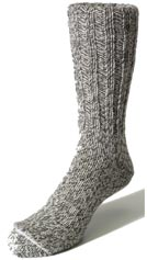 Norsewear flecked socks