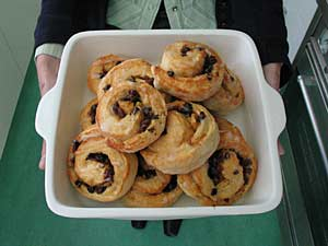 Fruit and Nut scrolls