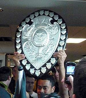 The front of the Ranfurly Shield