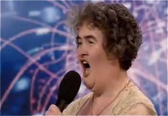 Susan Boyle on Britain's Got Talent