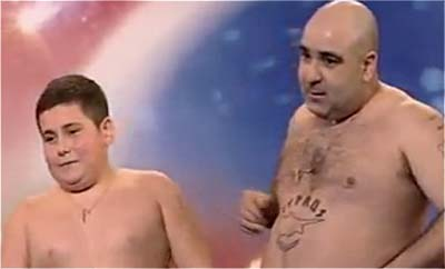 Stavros Flatly on Britain's Got Talent