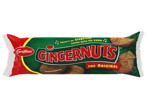 Gingernuts in short supply