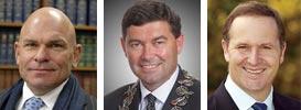 Rodney Hide, Andrew Williams, John Key