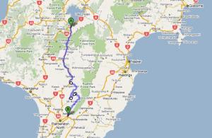Leg 1: Turangi to Ashhurst - 226 km