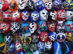 Mexican wrestling masks - The Mission