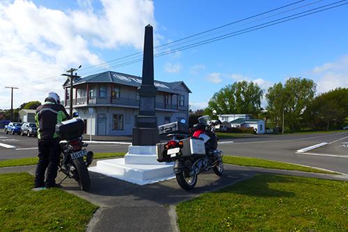Halcombe Memorial roundabout